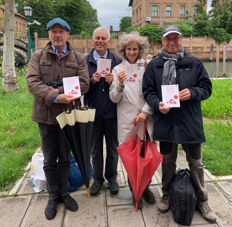 Kifubon dona libri alla Casa Circondariale di Venezia
