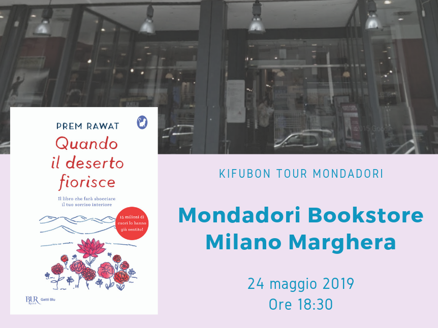 Kifubon Tour al Mondadori Bookstore Milano