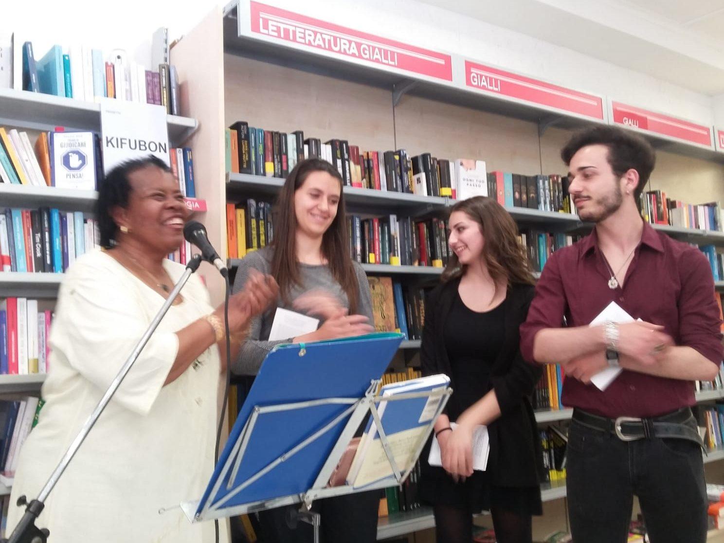Kifubon Tour al Mondadori Bookstore di Nettuno