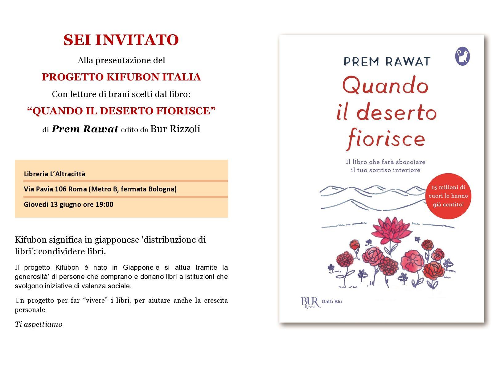 Roma – Presentazione alla Libreria L'Altracittà