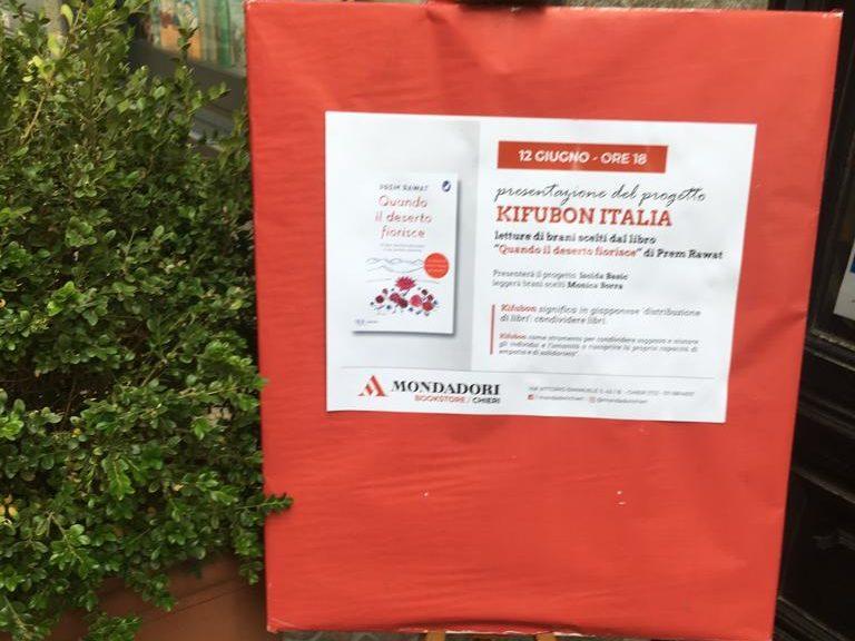 Kifubon Tour al Mondadori Bookstore di Chieri, Torino