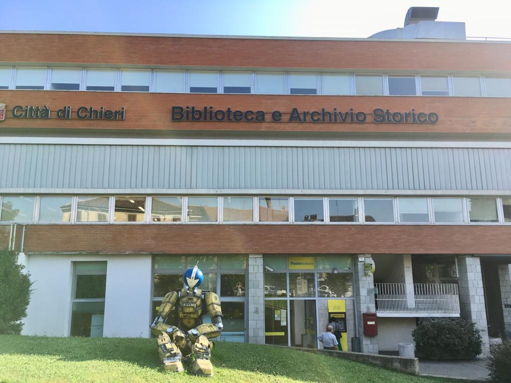 Donazione alla Biblioteca Civica di Chieri, Torino