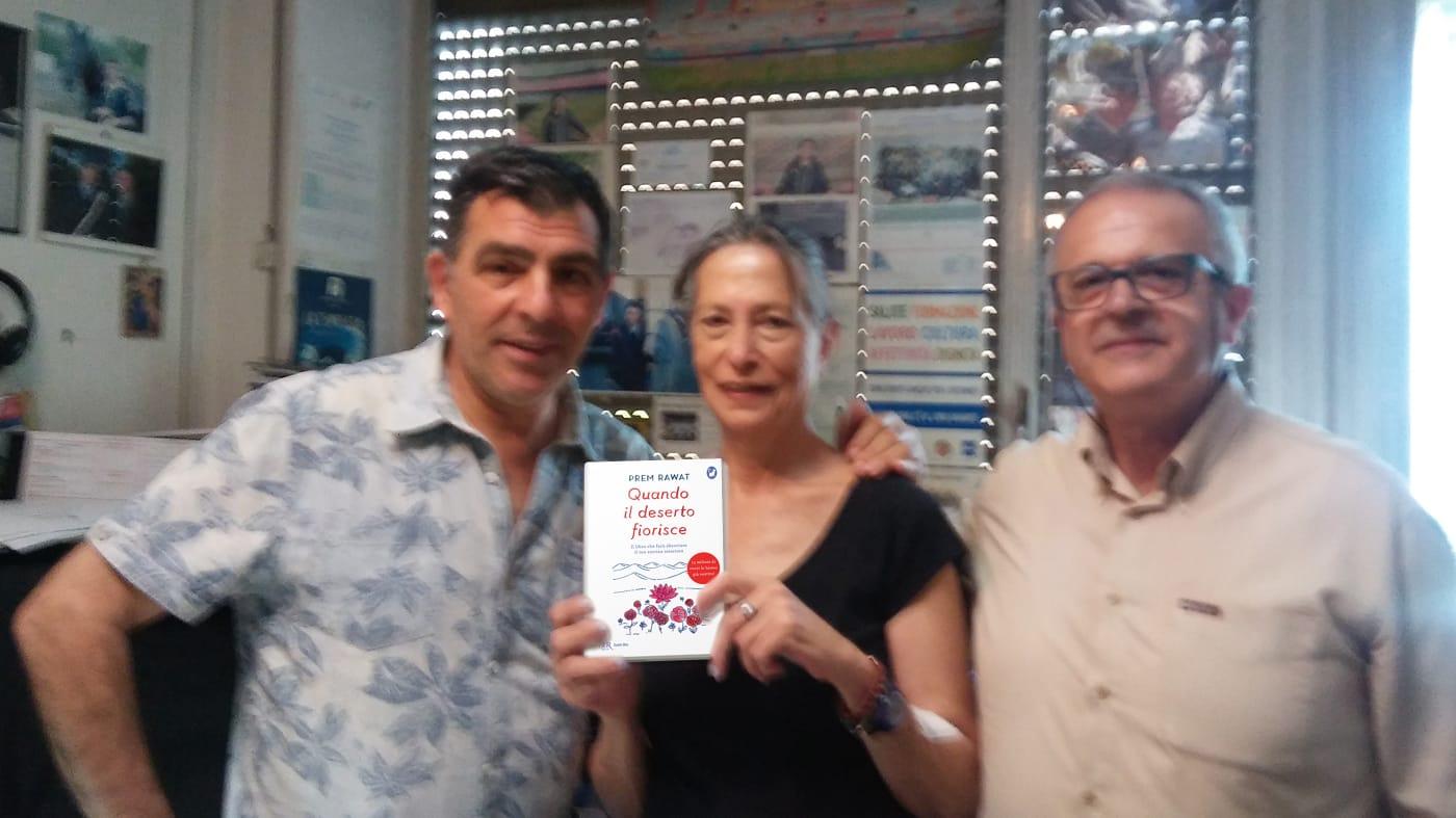 Kifubon dona libri alla Casa Circondariale Rebibbia di Roma