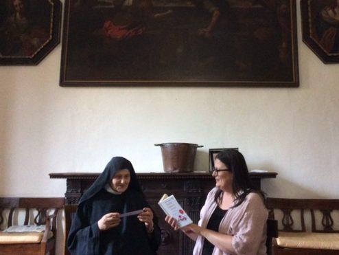 Pomeriggio speciale di lettura presso il Monastero delle Benedettine, a Montecatini