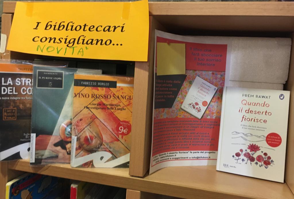 Donazione alla Biblioteca Comunale di Villanova d'Asti