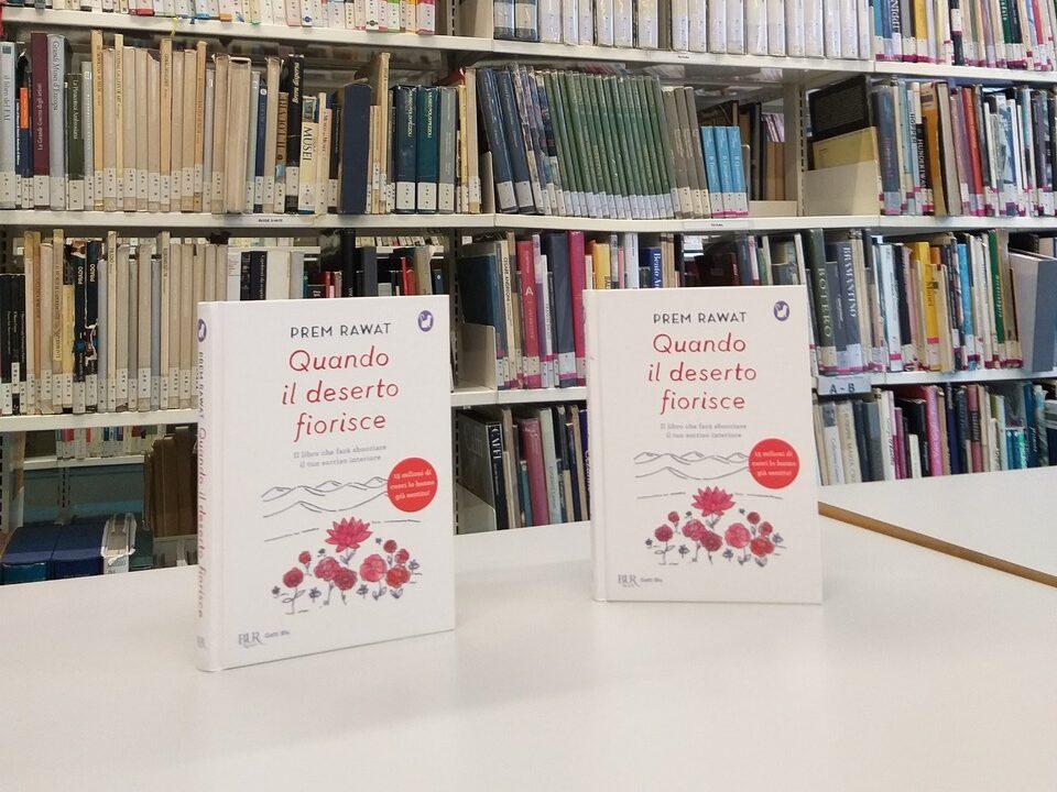 Donazione alla biblioteca di Arcore