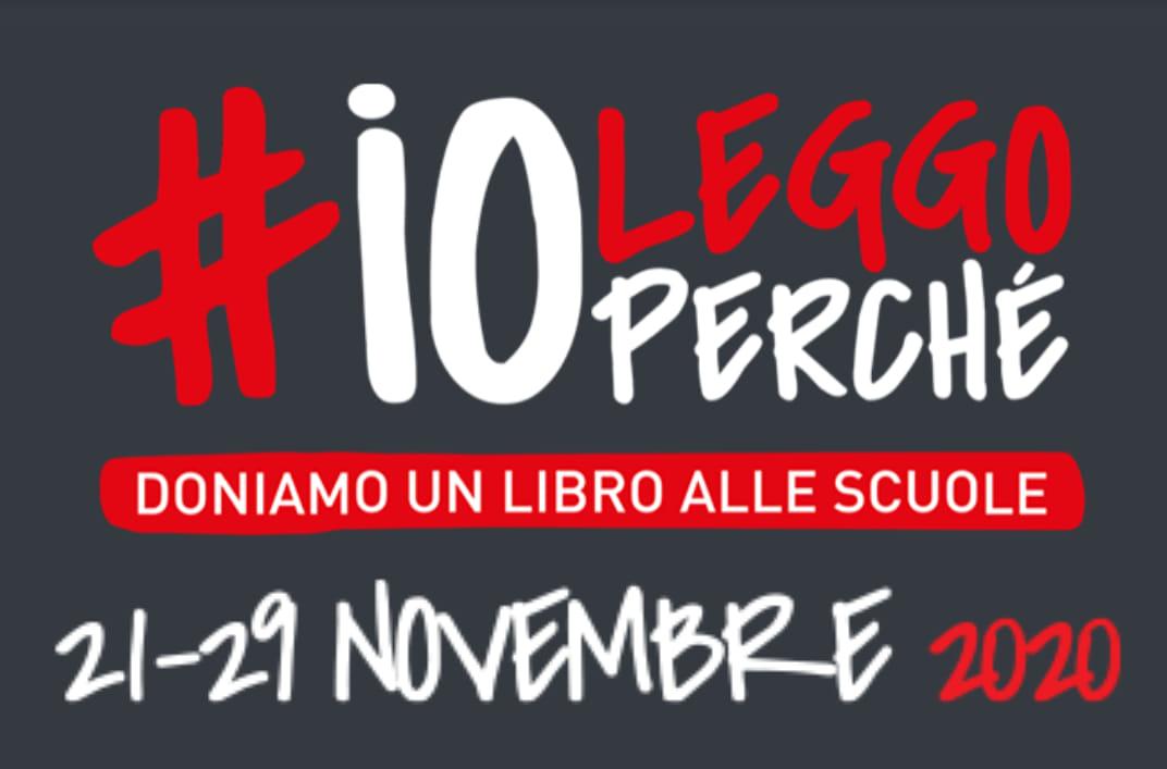 Donazioni di libri per la campagna #ioleggoperché, novembre 2020